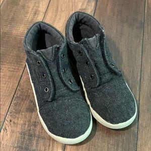 Boys Toms Gray high top sneaker